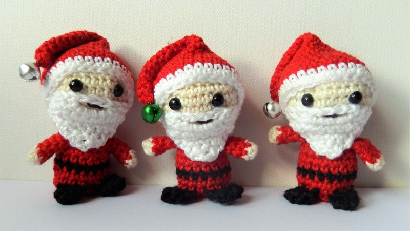 PATTERN Cuddle-Sized Santa Claus Amigurumi – Storyland Amis | 450x800